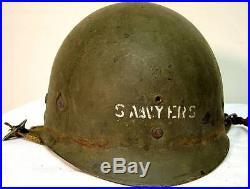 Ww2 Sous Casque Liner Americain De Parachutiste Jus Grenier 1944 Westinghouse