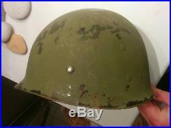 Ww2 Sous Casque Liner Americain Jus Grenier 1944 Westinghouse