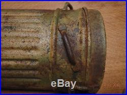Ww2 allemand german boite cam Fallschirmjager normandie elite box original 1944