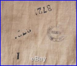 Ww2 armée française Cravate foulard en calicot kaki