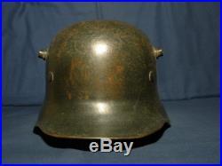Ww2 oreille allemande découpée casque M-18. Avec doublure