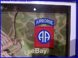 Ww2 us T5 Parachute airborne d day original paratrooper relic st mere eglise