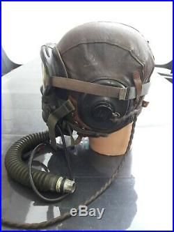 Ww2 usaaf Us rare Bonnet De Vol pilote Lunettes B8, Masque Oxygène, écouteurs