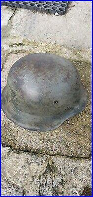 Ww2 wwII Coque de casque allemand M42 GERMAN HELMET ORIGINAL
