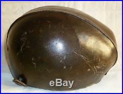 Wwii 1940 Casque De Vol T60 Pilote De Chasse France Original Avion Pilot Helmet