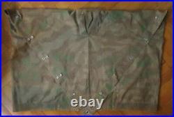 ZELTBAHN WH Mle31 camouflage éclats précoce 1934! Authentique TBE Allemagne