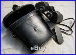 ° binoculars german jumelles allemandes 1942 WW2 complet 10x50 Dienstglas BIC +