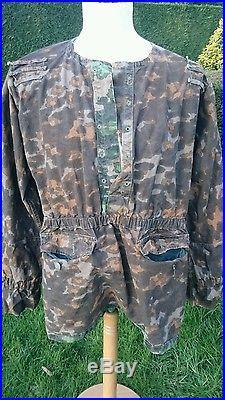 @@@ superbe blouse camouflée allemand waffen élite ww2@@@